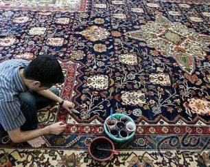 بافت و مرمت سازی قالی