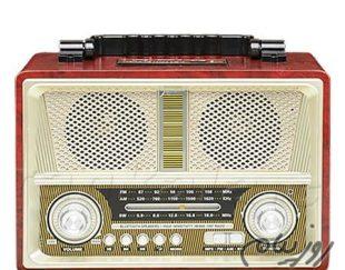 رادیو اسپیکری مدرن با طراحی کلاسیک