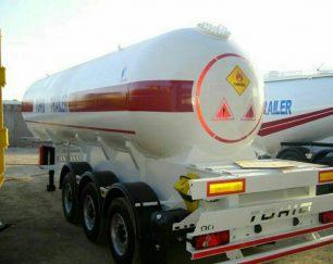 تولید وفروش انواع تانکر گازمایع وامونیاک