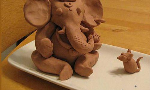 گل رس کودکان به همراه آموزش مجسمه سازی