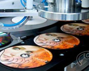 چاپ مستقیم برروی انواع CD, DVD(امین)