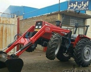 تولید و فروش بیل جلو تراکتور (بکهو )