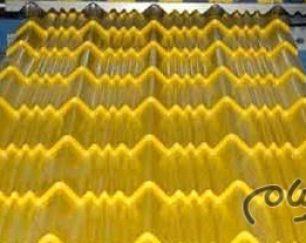 ورق های شیروانی طرح سفال جهت پوشش سقف ویلا