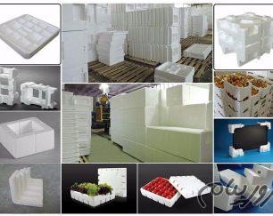 تولید پلاستفوم (یونولیت) بسته بندی