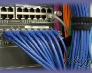 خدمات PASSIVE (پسیو) شبکه، فیبر نوری (fiber optic)