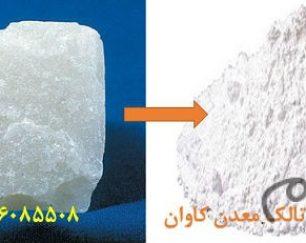 فروش تالک(Talc) معدن کاوان- خرید تالک معدن کاوان