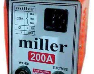 دستگاه جوشکاری 200 آمپر سلکتوری طرح میلر ساخت ایران ( ترانس جوش میلر طرح اینورتری )