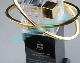 طراحی و ساخت تندیس های فلزی وپلکسی