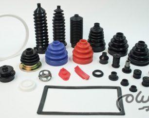 تولید قطعات لاستیکی استاندارد و سفارشی