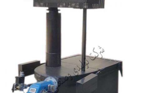 زباله ولاشه سوز (150 کیلوگرمی)طرح انگلیسی