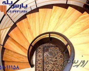 راه پله فلزی پارس پله