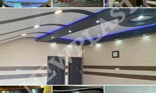 هات استمپ, پانل PVC ساده و پانل PVC روکشدار چاپی (دیوارپوش و سقف کاذب)