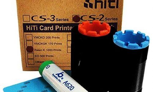 ریبون مشکی و رنگی پرینتر کارت HITI cs200