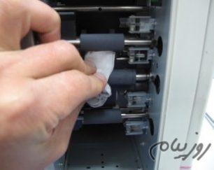 تعمیر انواع ماشین چاپ کارت پی وی سی pvc