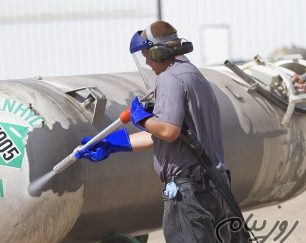فروش و خدمات ماشین آلات سند بلاست تر بدون غبار با برند گراکو (GRACO)