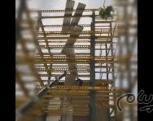 اجرا سقف عرشه فولادی