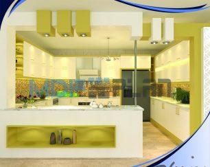 طراحی تخصصی و سه بعدی انواع کابینت های مدرن