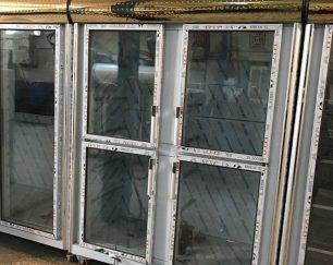 انواع یخچال های صنعتی تمام استیل