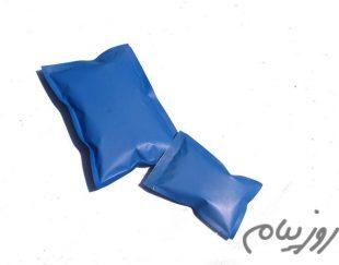 یخ کیسه ای آبی مات ۸*۱۱٫۵ سانتیمتر ۷۰ گرمی (کپی)