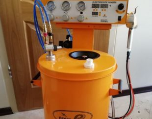 دستگاه پاشش رنگ پودری الکترواستاتیک پودرپاش اعمال پودر رنگ