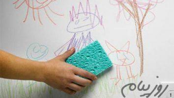 با نقاشی های کوچولوهامون رو دیوار چکار کنیم؟