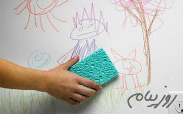 با نقاشی های کوچولوهامون رو دیوار چكار كنيم؟