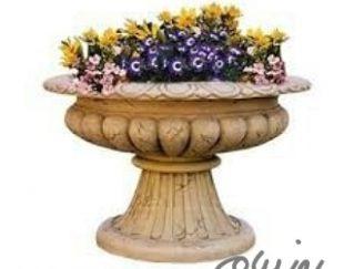 گلدان شهری و خانگی فایبرگلاس مدرن طرح رومی