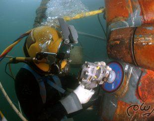 آموزش غواصي صنعتي – جوشکاری و برشکاری زیر آب – عکاسی و فیلمبرداری زیر آب  غواصي صنعتي
