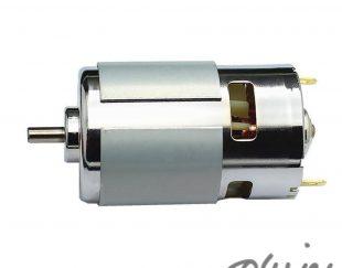 اسپیندل 12V24V DC دور بالا 775 مناسب برای دستگاه های Mini CNC