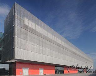 تولید و فروش انواع توری های استرچ متال جهت نما و سقف کاذب