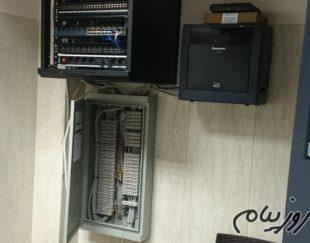 تلفن سانترال و  voip نصب و راه اندازی انواع سانترال پاناسونیک و کارت های مربوطه