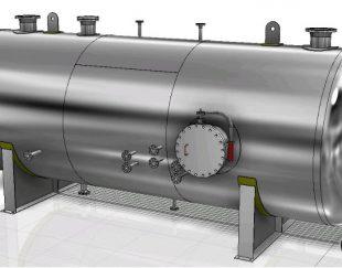 ساخت انواع مخازن فلزی وتحت فشار